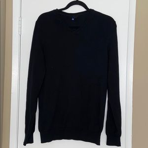 MENS H&M LONG SLEEVE BLACK SWEATER MEDIUM